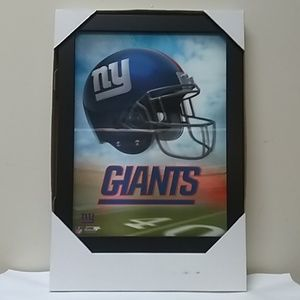 NY Giants 3D Lighted Picture